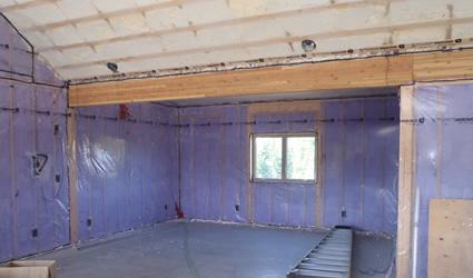 foundations basements ecofoam insulation newfoundland spray